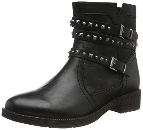 Jana 100% comfort Damen 8-8-25468-23 Stiefeletten, Schwarz (Black 001), 38 EU