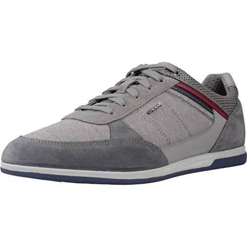 Geox Herren U Renan B Sneaker, Grau (Grey C1006), 43 EU