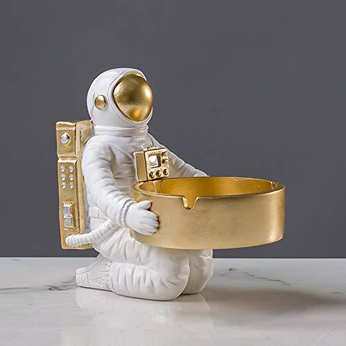 ASDZ Decoración Creativa del Ornamento del cenicero del Astronauta de la Historieta de la Personalidad,cenicero del Astronauta del hogar