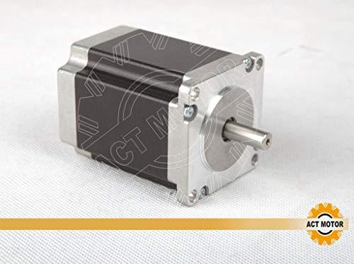 DE-SHIP FREE Nema23 1PC Stepper Motor 23HS8430 76mm 3.0A 270oz-in Ø 6.35mm CNC OEM ACT MOTOR GmbH