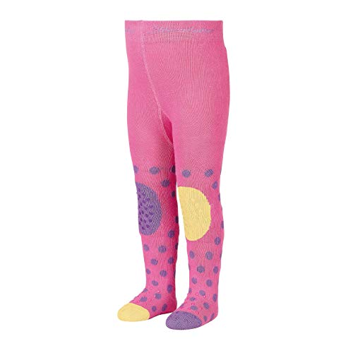 Sterntaler Krabbelstrumpfhose für Mädchen, ABS-Sohle, Giraffen-Motiv, Alter: 1-2 Jahre, Größe: 86, Rosé (Orchidee)