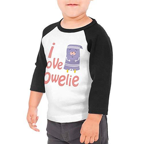I Love Towelie (1) T-Shirt Retro Long Sleeve Shirt for Kid 4t