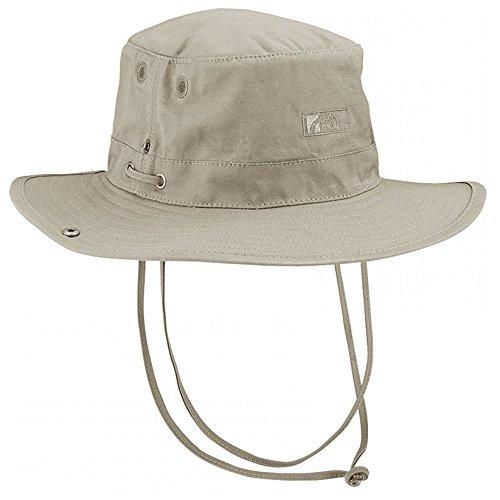 Trekmates Bush UV40 dames heren hoed muts cap katoen + muggennet S/M