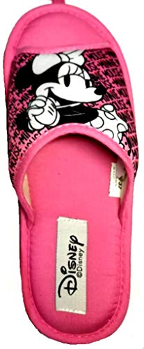 de fonseca Disney Minnie Pantofole Donna Cotone MOD. Bari E PA W681 Rosa (Numeric_36)