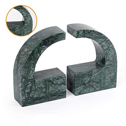Kasten, Rekken & Planken Marmeren boekensteun Office mode accessoires Geometrische patroon boekenplank Tafel Decoratie Kindermeubilair