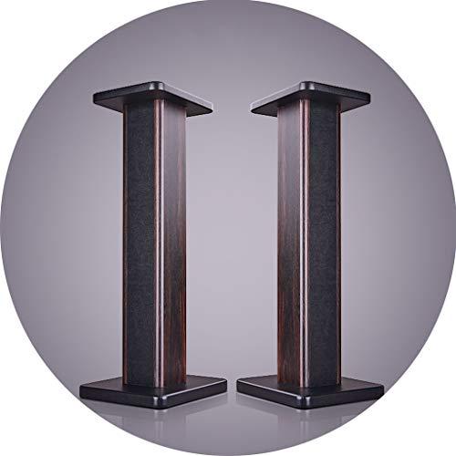 speaker stands for studios Speaker Stands Recording Studio Surround Sound Stand Household Floor Stand High-Load Stable Media Furniture (Color : Black, Size : 30cm)