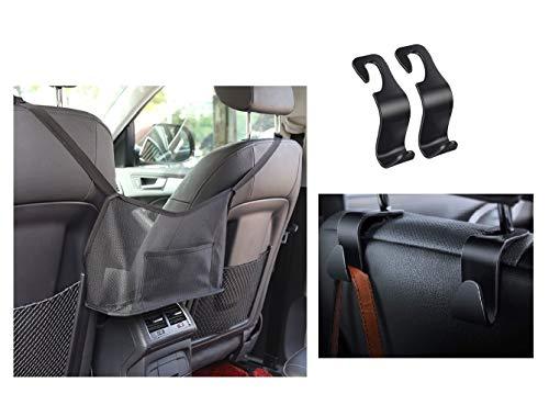 Auto Netz Tasche Handtasche Halter Organizer, Kofferraum Organizer, Aufbewahrungstasche zwischen Autositzen Car Net Pocket Handbag Holder Handtaschen