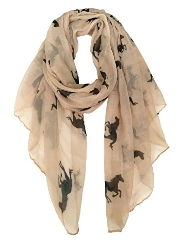 Scarf with horse print - Gifts For Horse Lovers