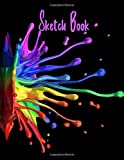 Sketch Book: Notebook for Drawing, Writing, Painting, Sketching or Doodling, 110 Pages, 8.5x11 (Premium Abstract Cover vol.80)