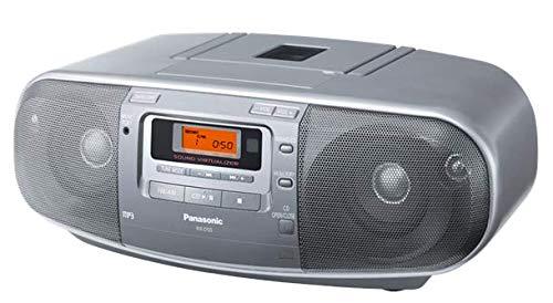 Panasonic RX-D50AEG-S Stereo-Radiorecorder, silber