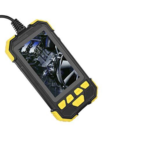 ULTECHNOVO Industrielle Endoskopkamera mit 4. 3 Zoll LCD-Bildschirm Schlangeninspektionskamera Wasserdichte Endoskopkameras für Reparaturmann Pipeline Inspektionsautos 3. 5M