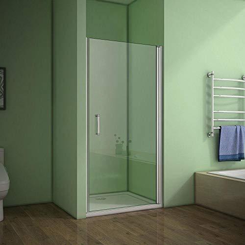 Mampara de ducha abatible con acceso