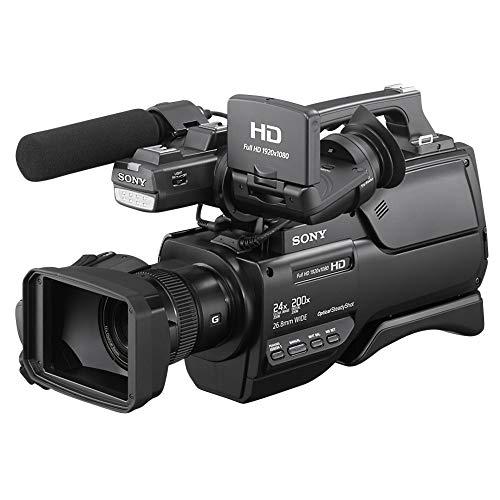 Sony HXR-MC2500E NXCAM AVCHD Camcorder (Exmor R CMOS-Sensor, 6,59 Megapixel, Full HD, 32 GB interner Speicher, NFC/WiFi, LED-Licht) schwarz