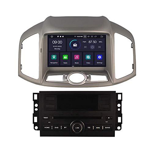 BWHTY in Dash Android 10 Car Dvd Player Radio Head Unit Stereo di Navigazione GPS per Chevrolet Captiva 2012-2017 Holden Captiva 201 - -2017 Supporto Bluetooth SD USB Radio OBD WiFi DVR 1080P