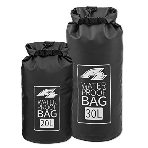 F2 Dry Bag Lagoon - Mochila impermeable (20 y 30 L), color negro