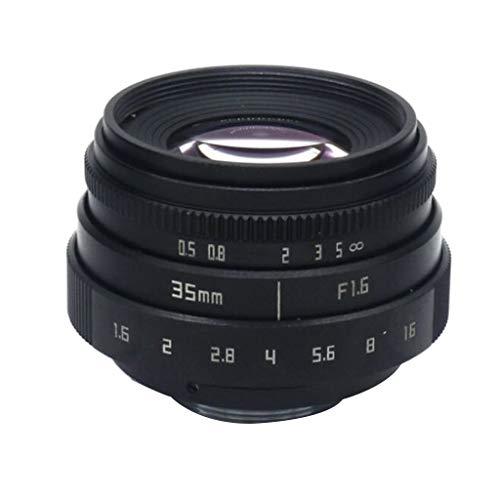 prasku 35mm F / 1.6C Mount APS-C Television Lens TV/CCTV per N1 Fuji FX