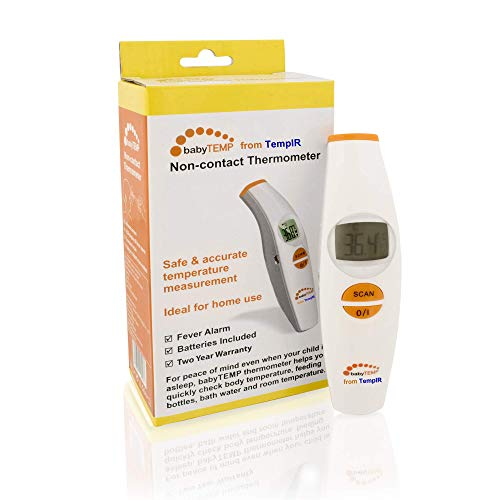 TempIR Temporal Body Temperature Thermometer, Infrared for Baby Adult...
