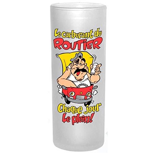 Verre Humoristique - Le Carburant du Routier