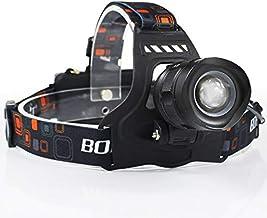 junfeng led hoofd fakkel led koplamp hoog vermogen 5000 lm xm-l2 koplamp 5-mode zoom hoofd fakkel oplaadbare zaklamp