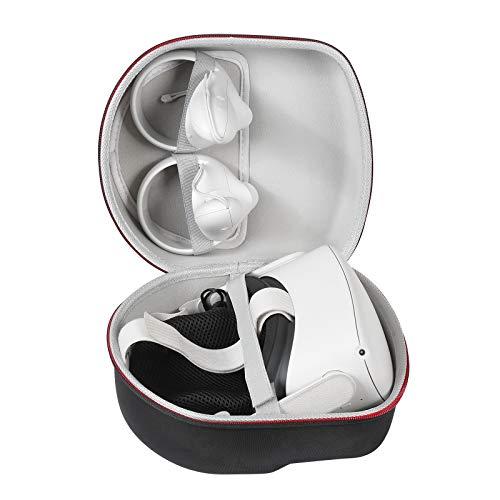 Hart Reise Schutz Hülle Etui Tasche für Oculus Quest/Oculus Quest 2 All-in-one VR Gaming Headset 64GB 128GB von LUYIBA