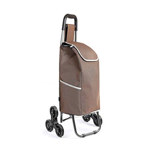 Einkaufswagen YLLXX Gepäckwagen Kletterboden Kleinwagen Faltanhänger Wohnwagen Kinderwagen Home Portable (93 * 34Cm)
