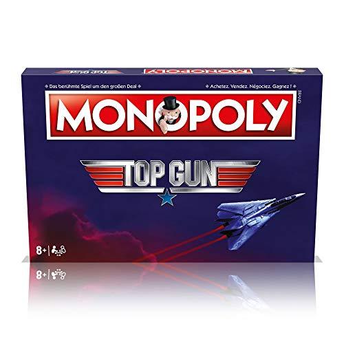 Winning Moves Monopoly Top Gun Deutsch Französisch Edition Spiel Brettspiel Gesellschaftsspiel