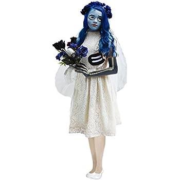 Disfraz Novia Cadáver para niña (2-4 años): Amazon.es: Juguetes y ...