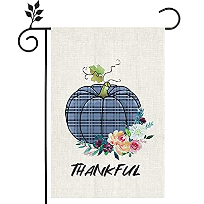 Amazon - 50% Off on Thankful Thanksgiving Garden Flag, Fall Decorations Garden Flag Vertical Double Sided