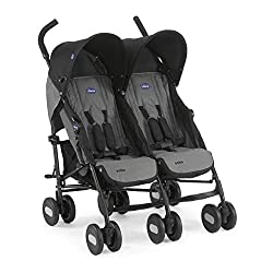 With elliptical frame tubes in contemporary angles Features elegant stay clean wheels with repeat logo details to match name seat graphic Lockable front swivel wheels, Size closed: 38 x 40 x 105 cm Fully reclinable backrest using one hand easy adjust...