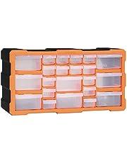 Festnight Organizador multicajones con 22 cajones 49x16x25,5 cm