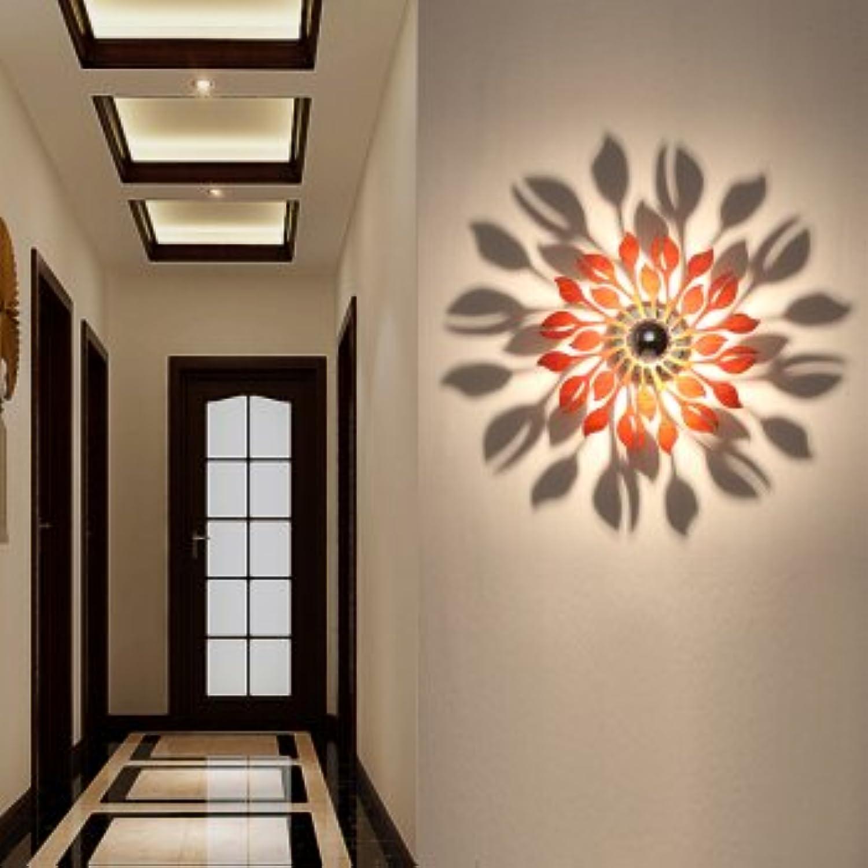 StiefelU LED Wandleuchte nach oben und unten Wandleuchten Sato Hee-Schatten Wandleuchte wood Wandleuchte Wandleuchte Projektion Flur Schlafzimmer Wohnzimmer Wand Lampe art deco verlsst, verlsst.