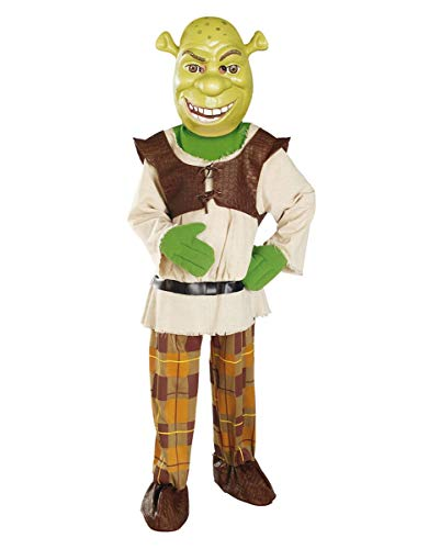 Horror-Shop Costume originale Shrek bambini S