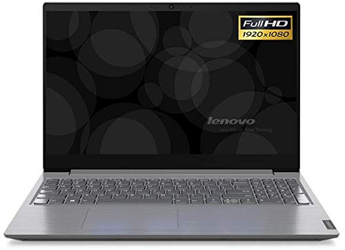 "Portatile Lenovo V15 cpu Intel i5 10th GEN. 4 core, Notebook 15.6"" Display FHD 1920 x 1080 Pixels 39,6 cm, DDR4 8 GB , SSD 256 GB , webcam, Wi-fi, Bt, Win10 Pro, Antivirus, Pronto All'uso Gar. Italia"