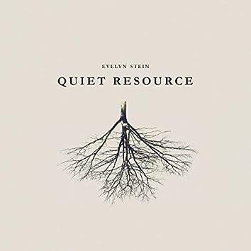 Quiet resource