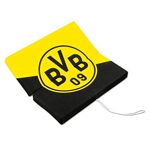 Borussia Dortmund, BVB-Klappsitzkissen, Schwarz/gelb, 09