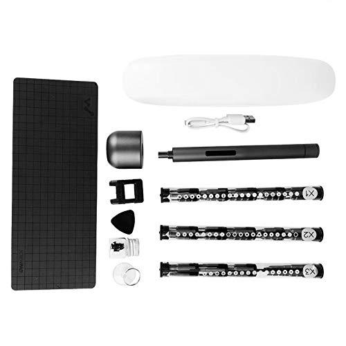 Screwdriver Practical Mini Electric Screwdriver with 56 Bits Magnetic Board Accessories Hand Repair Kit Hot