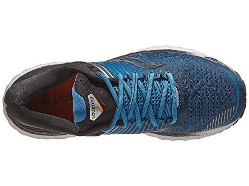 Saucony Triumph 17, Chaussure d'athlétisme Homme, Bleu Noir, 44 EU