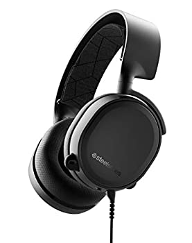 SteelSeries Arctis 3 - All-Platform Gaming Headset - for PC PlayStation 4 Xbox One Nintendo Switch VR Android and iOS - Black