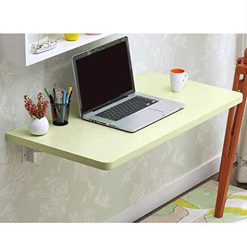 Wandklaptafel van hout, inklapbaar, keukentafel, bijzettafel, laptoptafel, schrijftafel, multifunctionele tafel, uitklapbare eettafel voor aan de muur 100 * 40cm 5