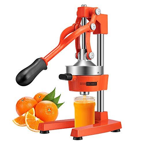 VIVOHOME Heavy Duty Commercial Manual Hand Press Citrus Orange Lemon Juicer Squeezer Machine