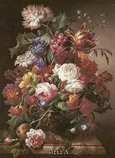 Grandmother's Bouquet I Art Poster PRINT Joseph Nigg 18x24