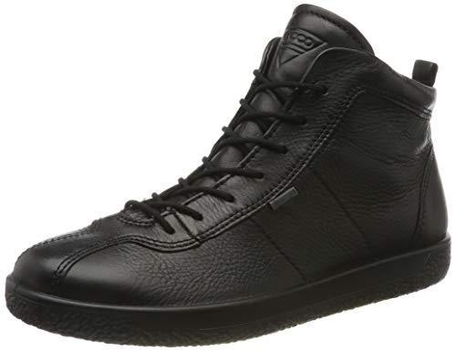ECCO Damen Soft 1 W Hohe Sneaker, Schwarz (Black 1001), 39 EU