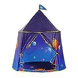 Kids Space Play Tent, Playhouse Plegable para Interior y Exterior Carpa de Juguete Emergente Portátil con Bolsa de Transporte para Niños Regalo para Niños, Niñas y Niños Pequeños