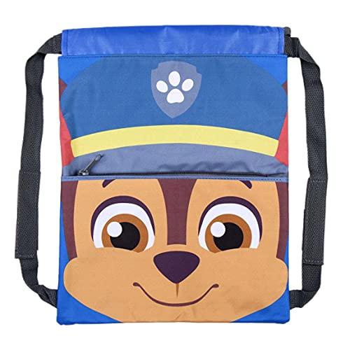 CERDÁ LIFE'S LITTLE MOMENTS Saco de Paw Patrol-Licencia Oficial Nickelodeon para Niños, Azul, Mochila Infantil Recomendada 3-6 años