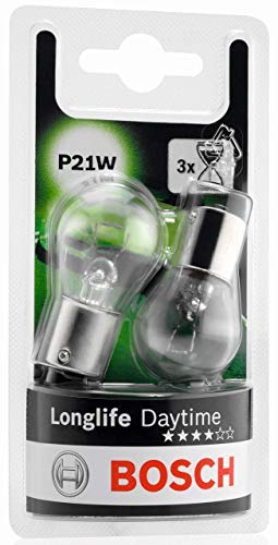 Bosch Lampes Longlife Daytime P21W 12V 21W (Ampoule x2)