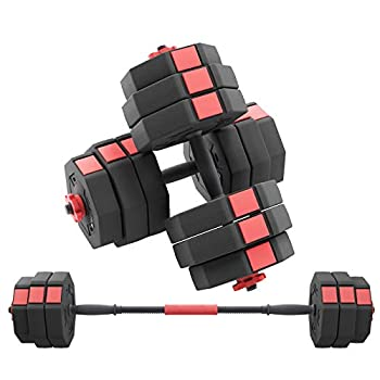 Soges Adjustable Dumbbells pair Iron sand mixture Octagonal designed Anti rolling Fitness Dumbbells HSYL001-30