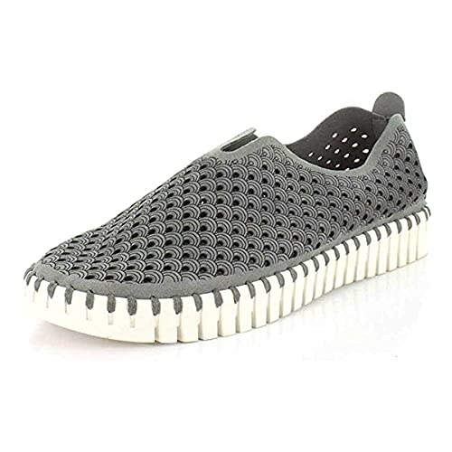 ILSE JACOBSEN Women s Athletic Shoes  Grey  10