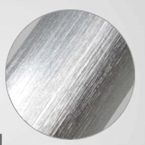 5151BuyWorld lamp H50 cm moderne hanger LED-lamp goud zilver keuken cilinder licht oorbellen buis hangende kunst verlichting voor eetkamer hoge kwaliteit {geborsteld zilver & diameter 3 x 50 cm}