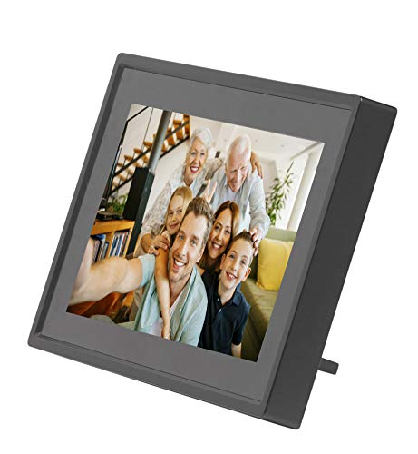 """Denver PFF-711BLACK 7"""" Pantalla táctil WiFi Negro - Marco Digital (17,8 cm (7""""), 1024 x 600 Pixeles, IPS, MicroSD (TransFlash), Cuadro por Cuadro, Rotación, Horizontal/Vertical)"""