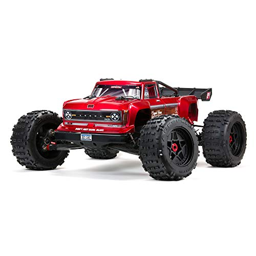 ARRMA RC Truck 1/5 Outcast 4X4 8S BLX Stunt Truck RTR (Ready-to-Run Transmitter and Receiver Included, Batteries and Charger Required), ARA5810